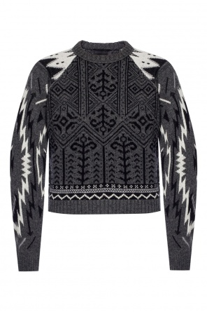 Sweater with embroidered pattern od Diesel Black Gold